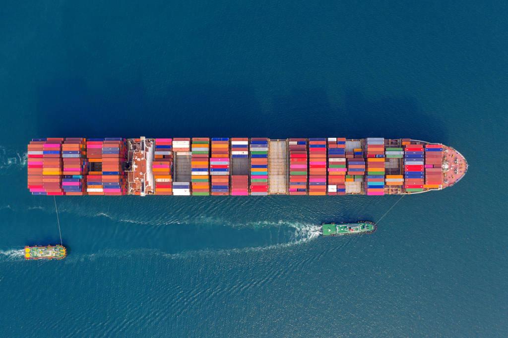 transporte maritimo de containers