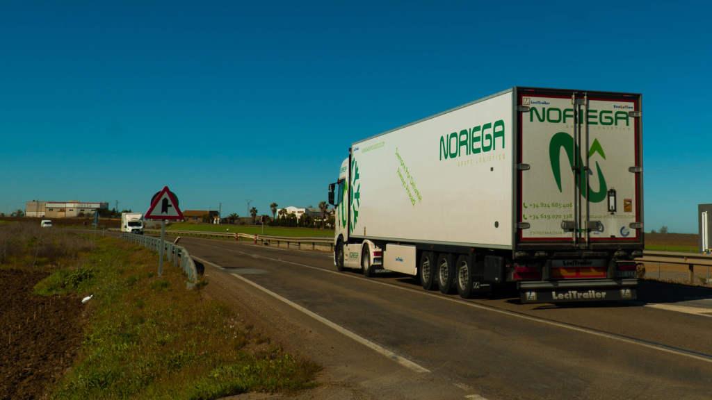 transporte refrigerado de alimentos